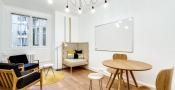Location salle de réunion pour 3 personnes dans le 16ème arrondissement de Paris rue Pergolèse