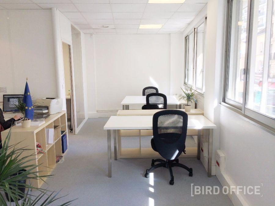 Location bureau individuel en open space à paris dans le ème