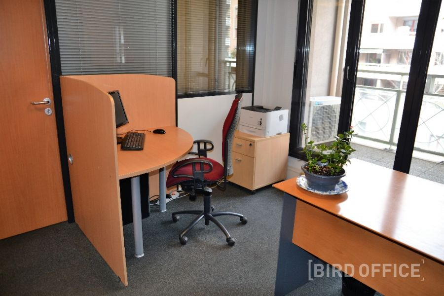 Rent individual office open space in the center of lyon 6th district