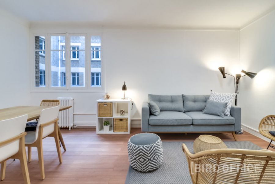 Louer espace de travail cosy pour 6 personnes près de l'avenue de la Grande Armée à Paris